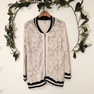 Free People Bomber Jacket sz M ✨